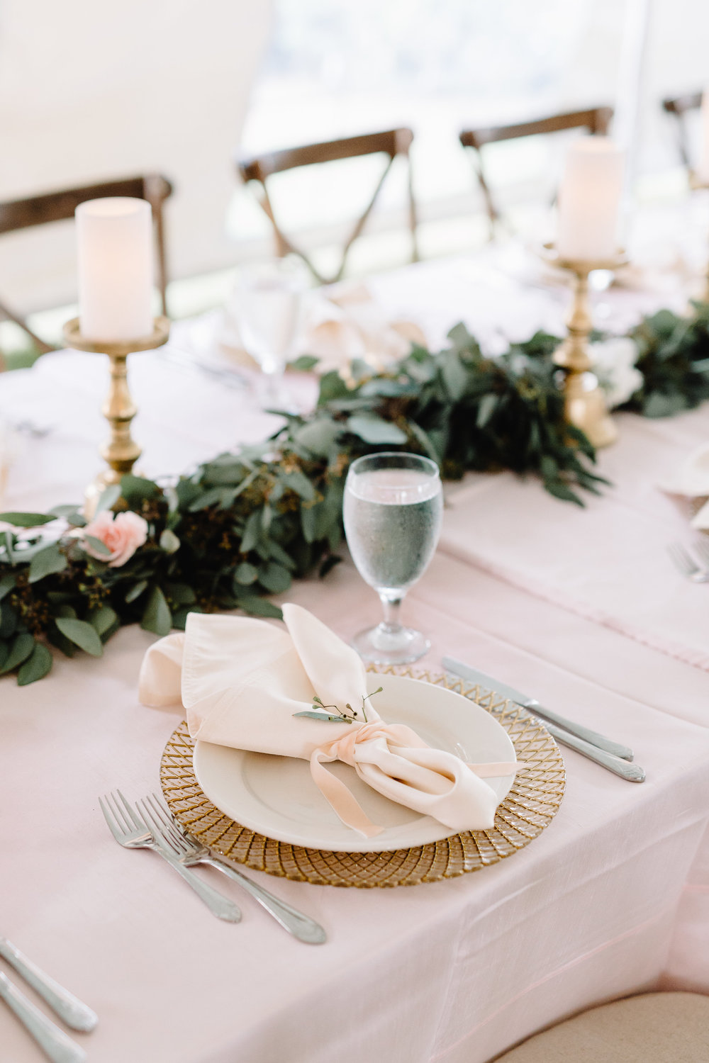 Blush & Gold Wedding at Cypress Grove Estate House  Orlando Wedding Florist Bluegrass Chic  Orlando Wedding Planner Blue Ribbon Weddings  Orlando Wedding Photographer JP Pratt Photography  Wedding Ceremony at Cypress Grove Estate House  Tented Lakeside Wedding Reception at Cypress Grove Estate House