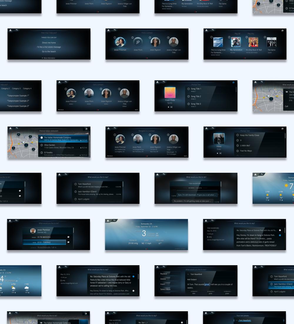 screens -