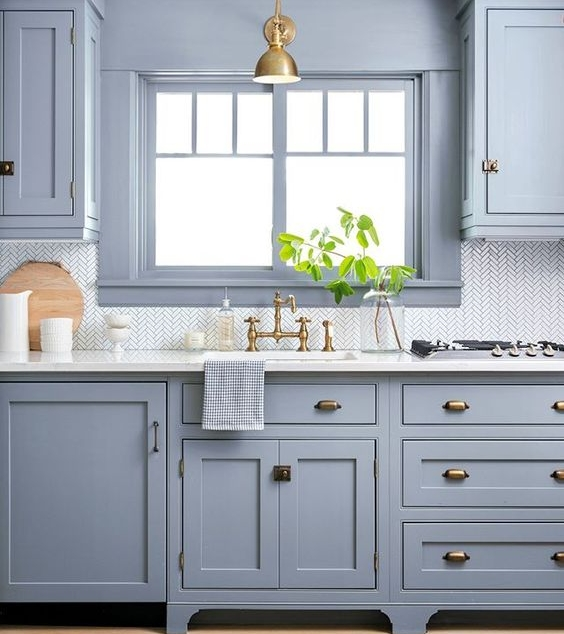 Baby Blue Kitchen Accessories: The Fat Hydrangea