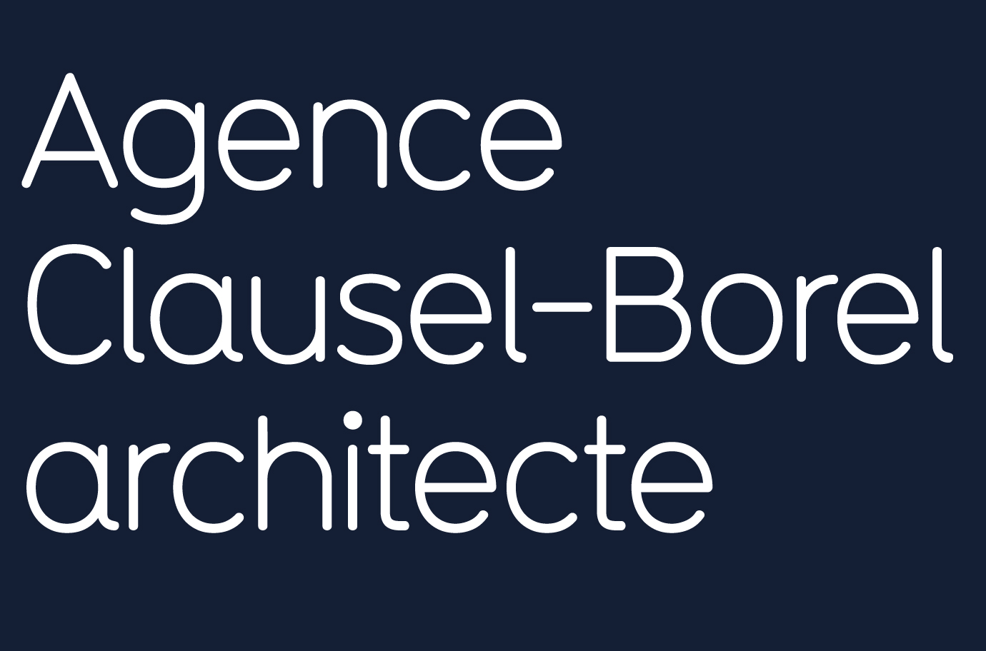 Agence Clausel-Borel architecte