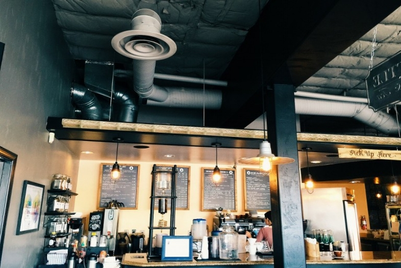 Kettle Coffee & Tea - This coffee shop brews the best coffee -they have their own micro roastery next door! Stop in for a pour over and a breakfast sandwich or swing by for open mic night every Thursday!