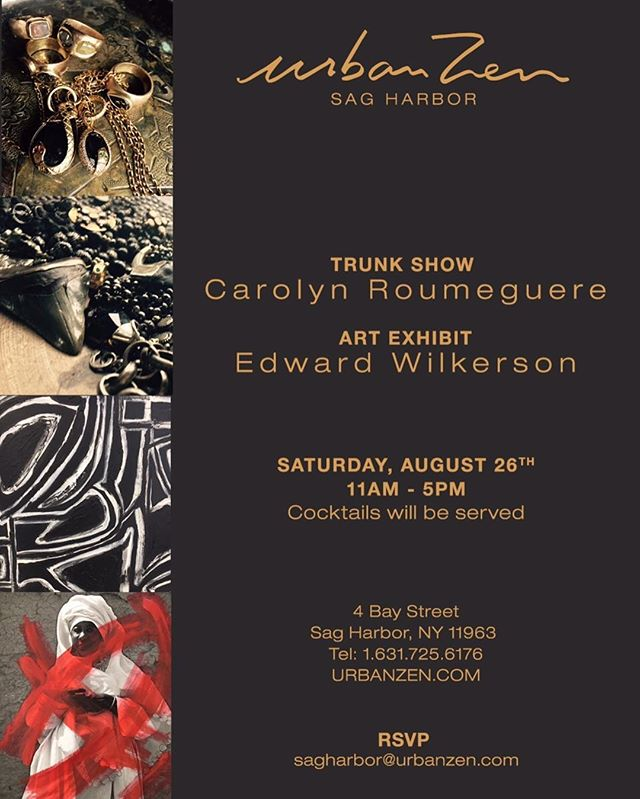 HAMPTONS trunk show hope to see you there #friendshiplaughtercreativity