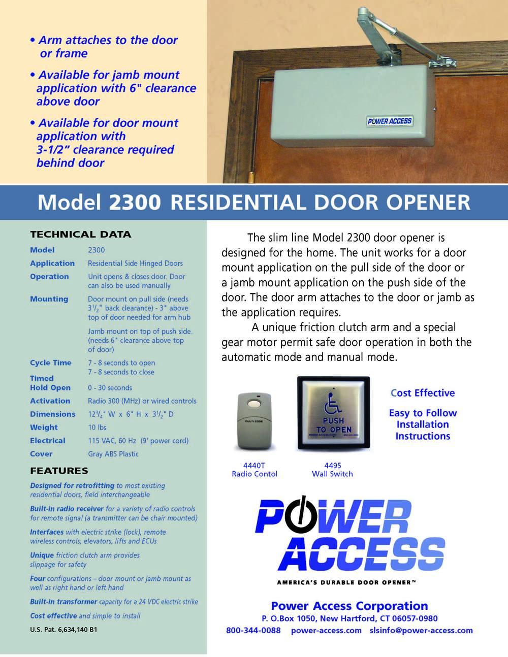 PA Model 2300 Cut Sheet 08-14-14.jpg