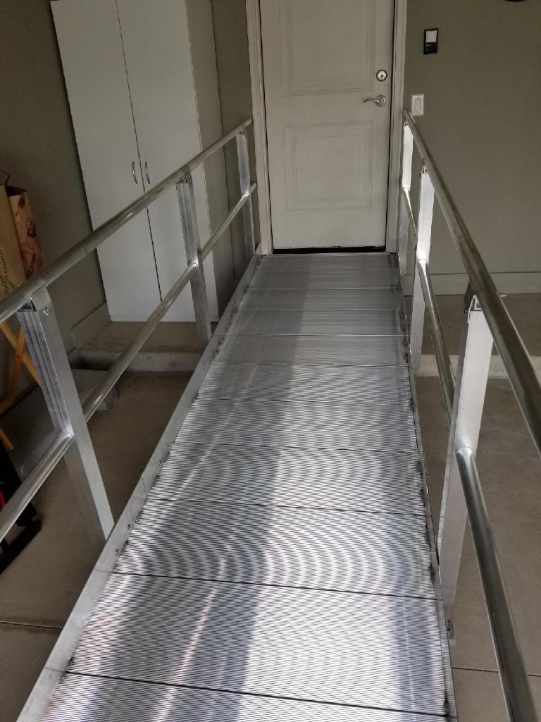 Aluminum Ramp - View 1
