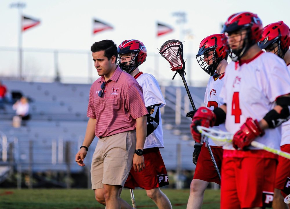 Peyton Stone, Heritage Head Coach