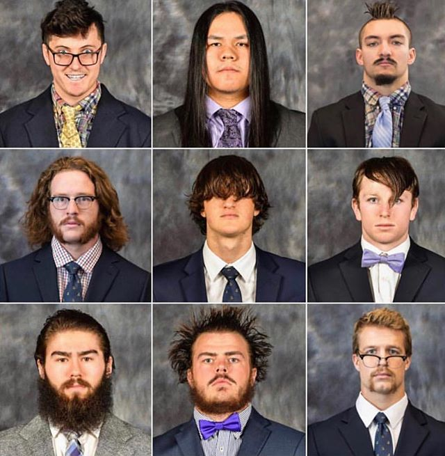 @ualbanymlax setting the tone for the 2019 roster pictures. Who thinks Coach Mabes was worthy of the All-Flow Team 2013-2016?