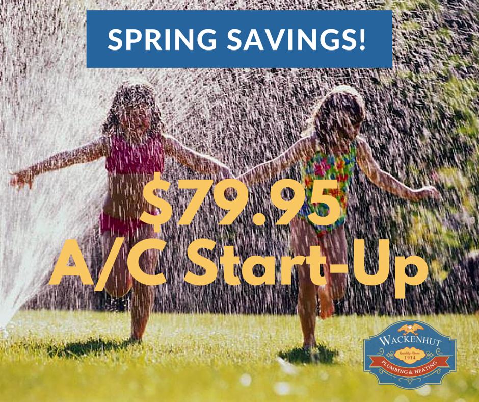 $79.95 A/C Start Up