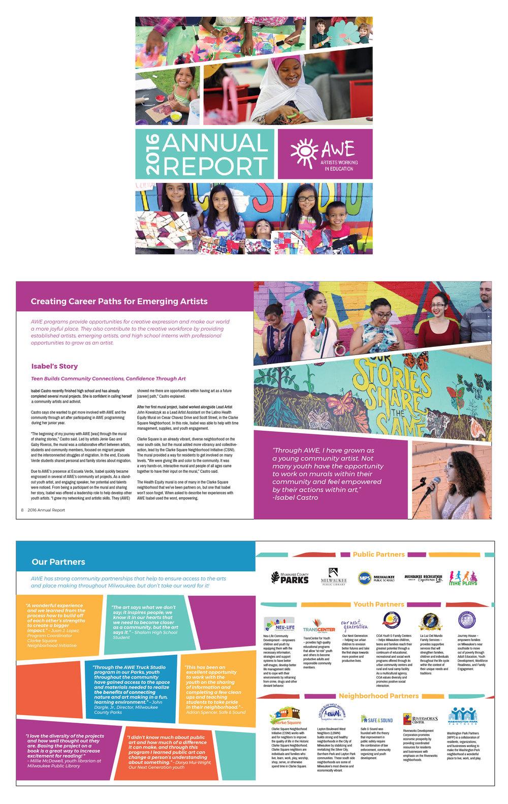 AWE 2016 annual report