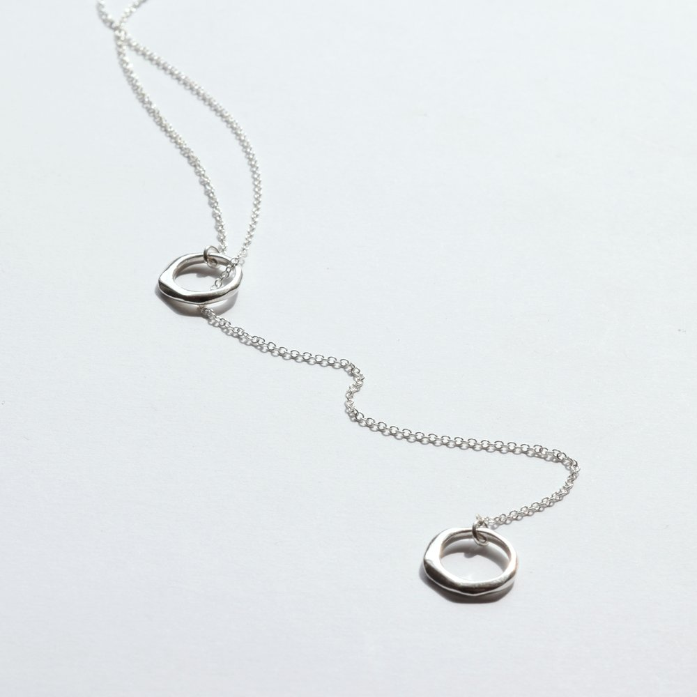 This lariat necklace, because you're connected even while apart.