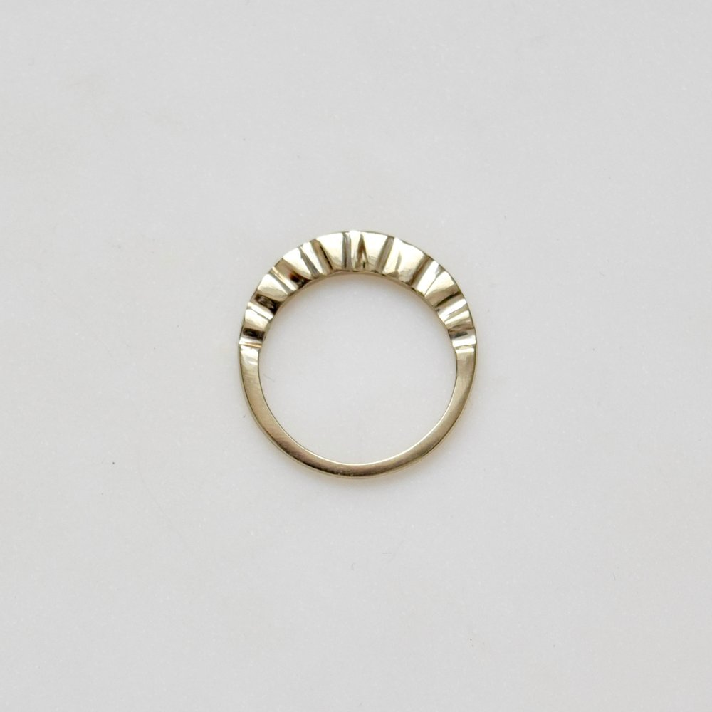 This Sun Ring, just like her radiant personality.