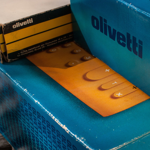 Olivetti Divisumma 18: Packaging & manual