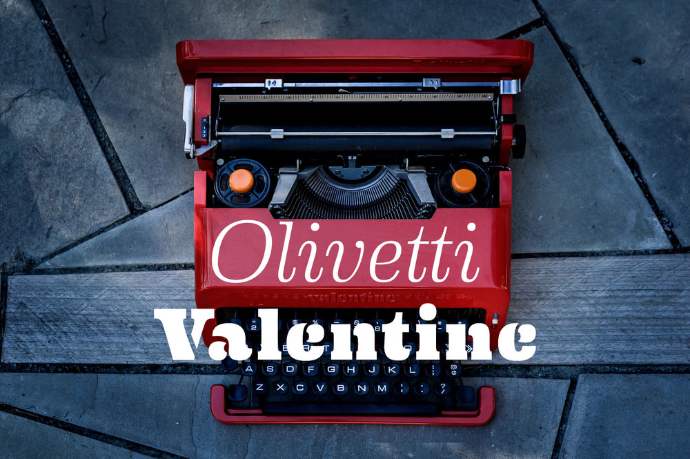 The iconic Olivetti Valentine, designed by Ettore Sotsass in 1969. Still one of the greats.