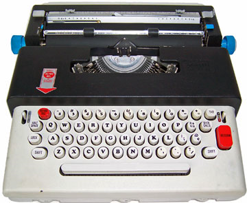 Lettera 36 with cylindrical keys. Image courtesy of  Mark martin