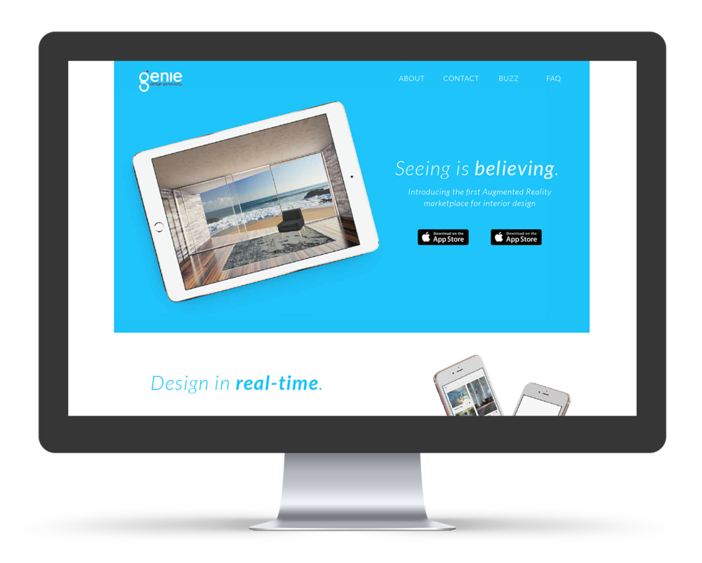 Genie Website & Assets