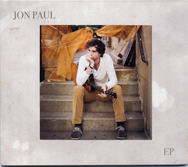 Jon Paul EP cover. Lovely debut recording from a talented new singer/songwriter. We worked on the photos together.