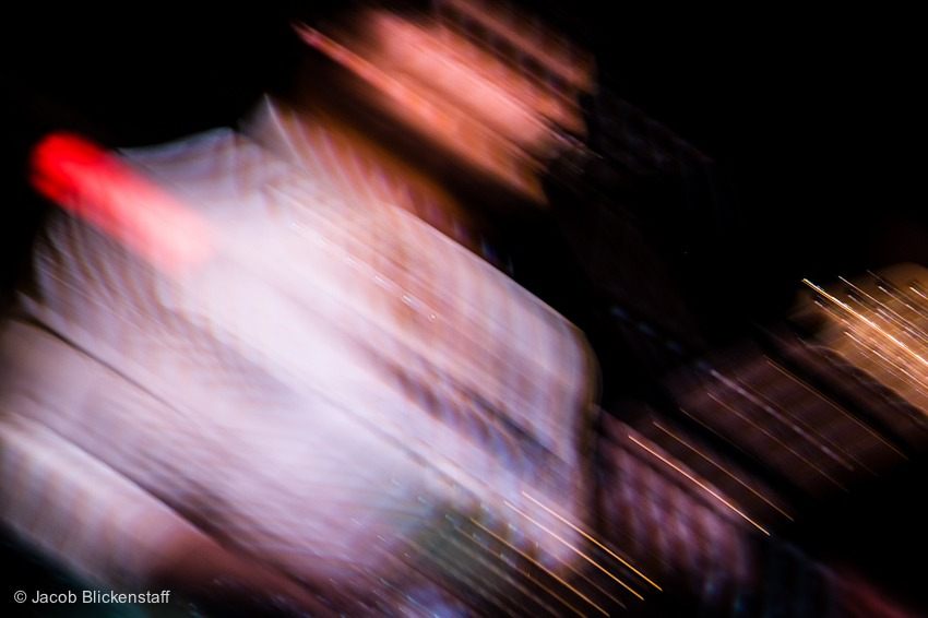 Motion Study with crappy LED stage lights -  Ervin Stellar @ Arlene's Grocery