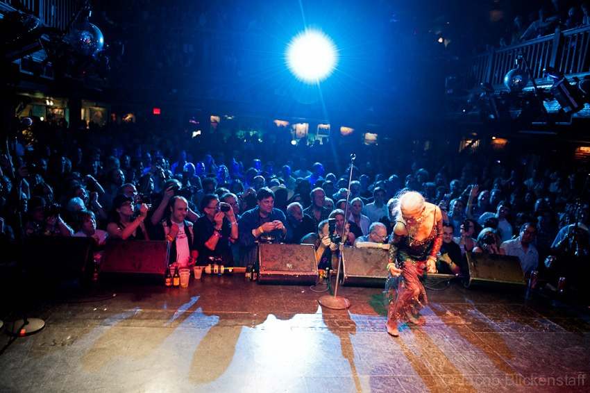 Sugar Pie De Santo, on stage at the House of Blues, New Orleans during the Ponderosa Stomp 2010.