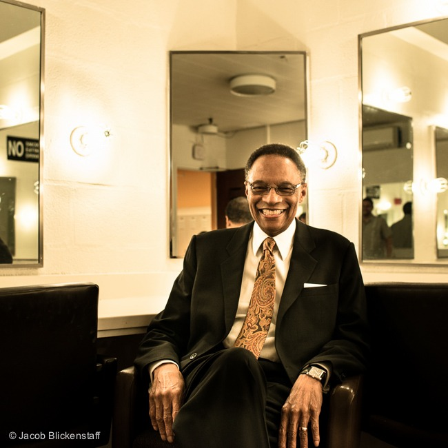 Outtake: Ramsey Lewis backstage at the Schimmel Center - check out the interview at www.3313photo.com