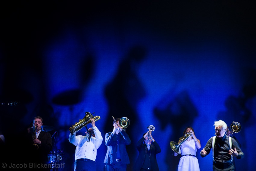 "David Byrne - with St. Vincent ""Love This Giant"" at the Beacon Theater"
