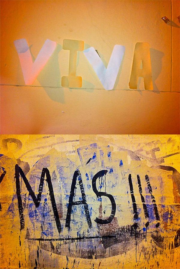 """Viva"" + ""Mas!"" - iPhone diptych #2, Argentina"