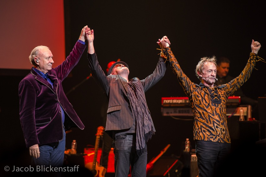 Mike, Micky and Peter @MonkeesOfficial more at http://wfmuichiban.blogspot.com/2012/12/monkees-mania.html
