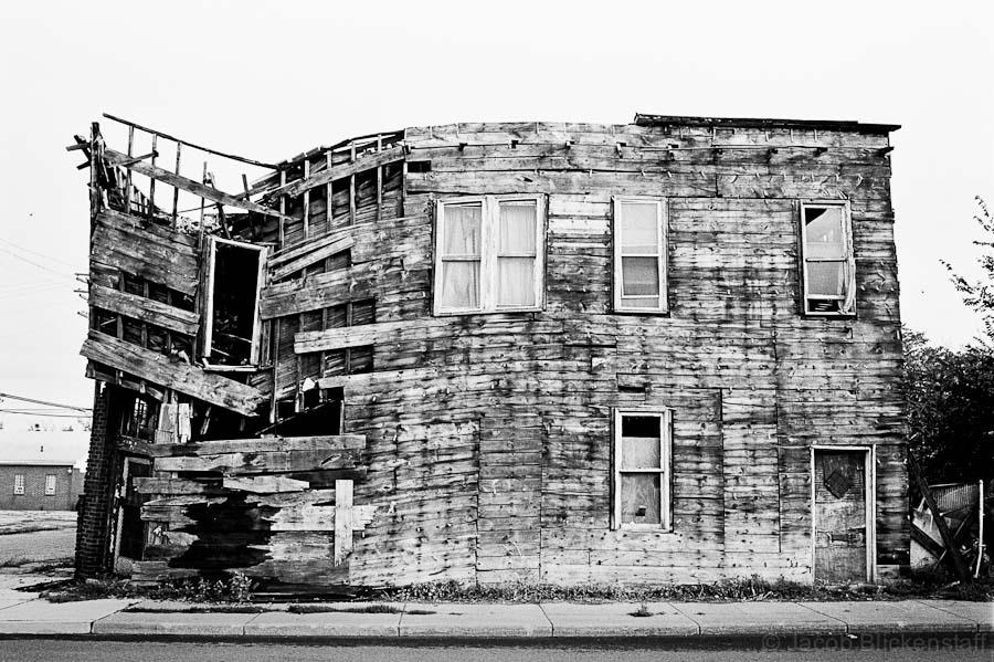 Building, Detroit, 2010