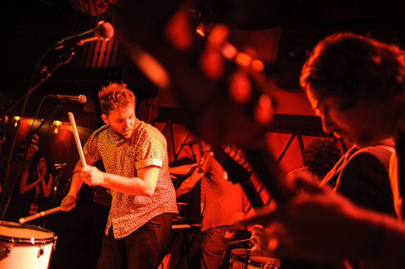 Caveman at Rockwood Music Hall - CMJ