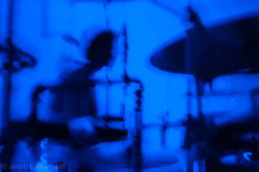 Droid. Pinhole Concert Photography #2. ISO 6400 @25s handheld