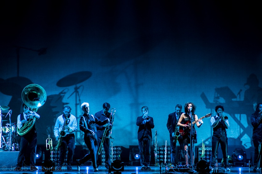 David Byrne and St. Vincent, Beacon Theater