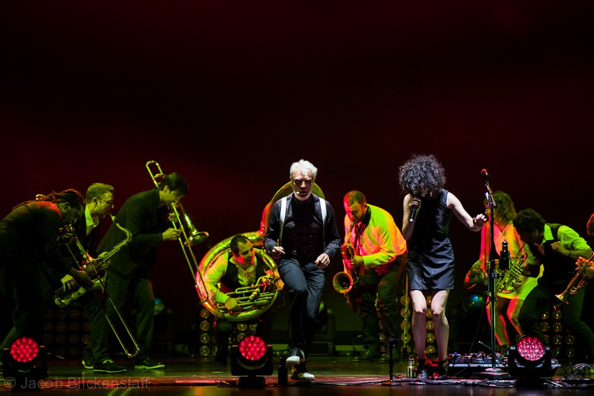 Photo #2 - David Byrne and St. Vincent, Beacon Theater