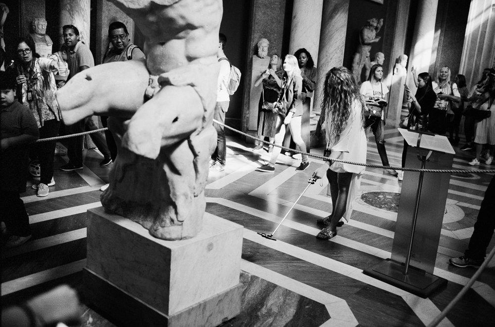 Belvedere Torso and Chanel Selfie-Stick, Vatican Museum, Rome