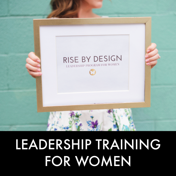 rise by design leadership training for women canada
