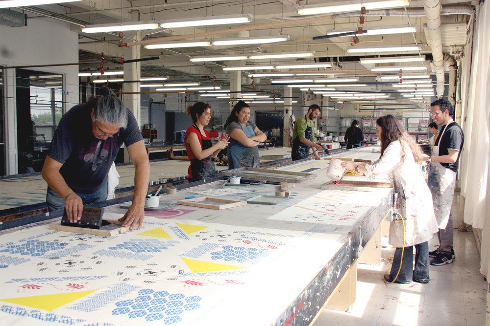 Formation au Centre Design et Textile, Montréal, 2016