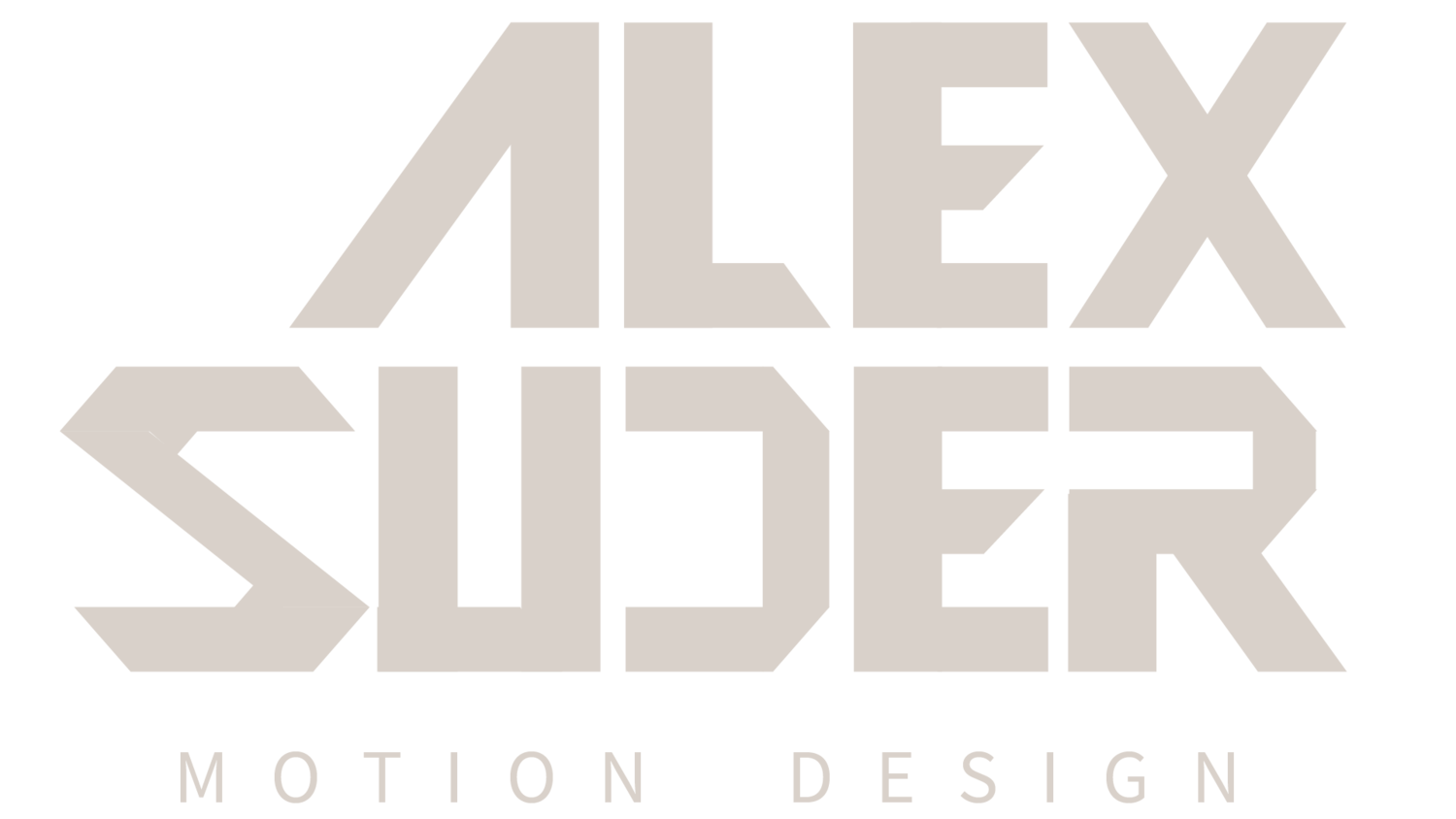 Alex Suder - Motion Designer