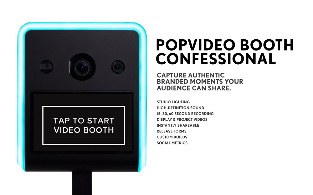 POPvideobooth Confessional