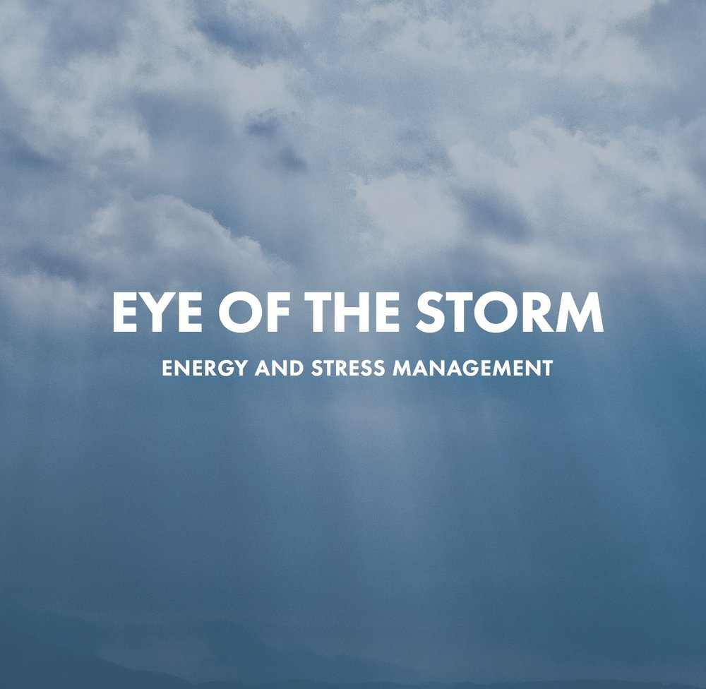 Health Coach John - Eye Of The Storm