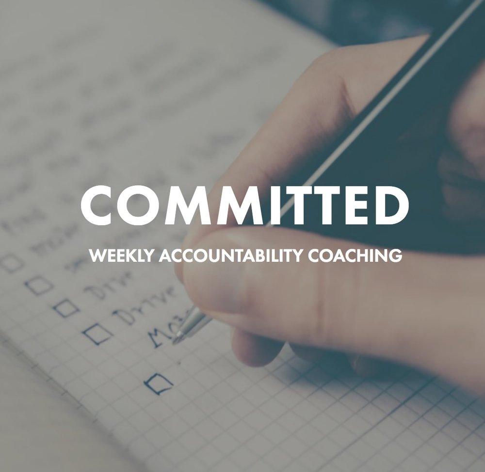 Health Coach John - COMMITTED Accountability coaching