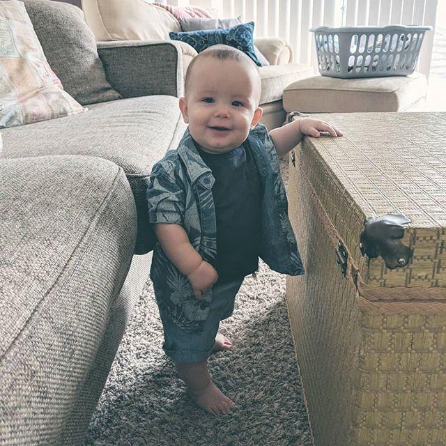 My big little man 😍  #elliotttolkien
