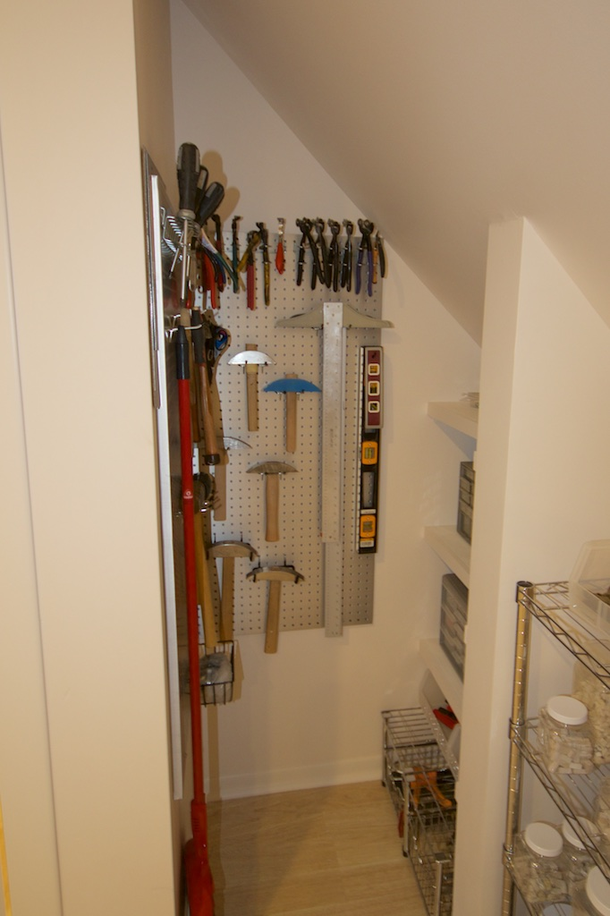 Take a closer look at my tool closet!