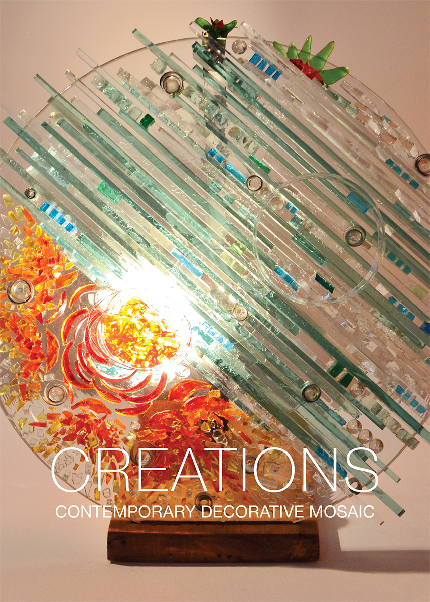 SAMA Gift Bag Postcard Front. Artwork:  Forgotten Glass , by Rosangela Kusma Gasparin