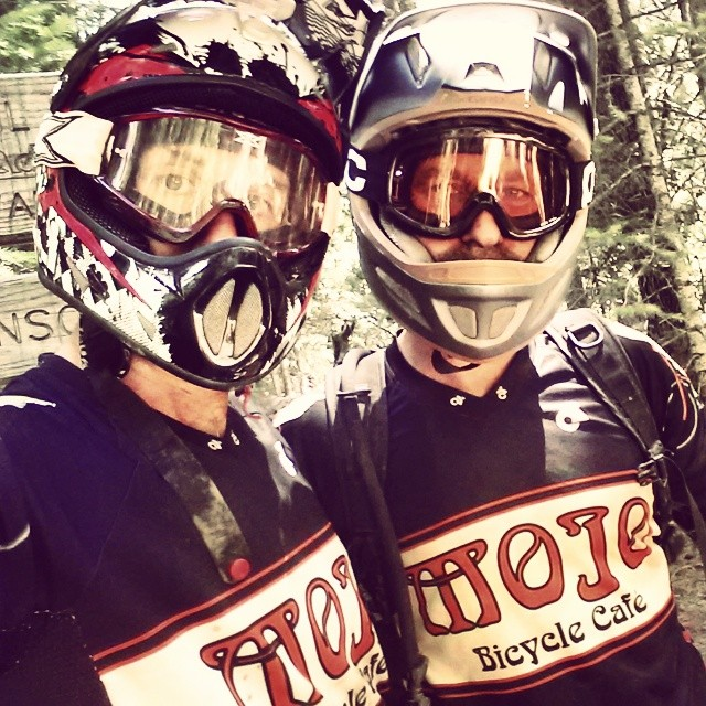 A week of trail riding with Pizza Dave in Downieville ushering in the longest days of the year. Meet the newest fans of full face helmets and goggles!