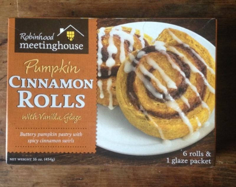 Pumpkin Cinnamon Rolls