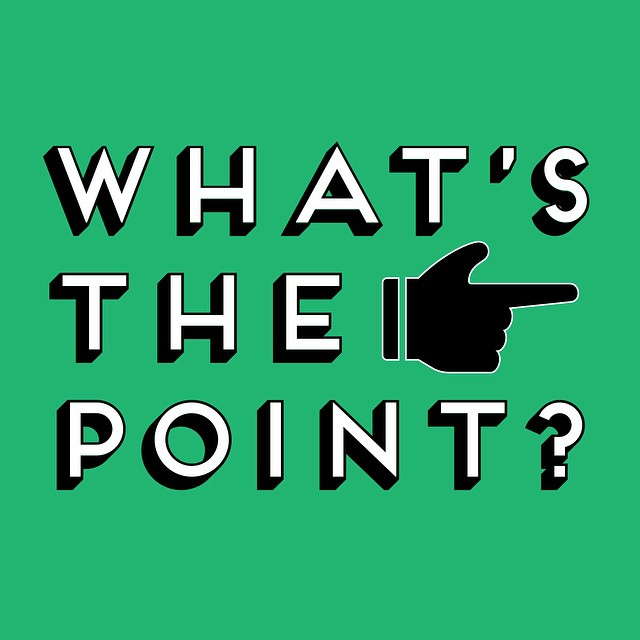 "We continue our ""What's the Point?"" series tonight. We hope this series helps our students to understand that they are valued by God and he has giving each one of them a specific purpose in life. #alive #stumin #youthmin"