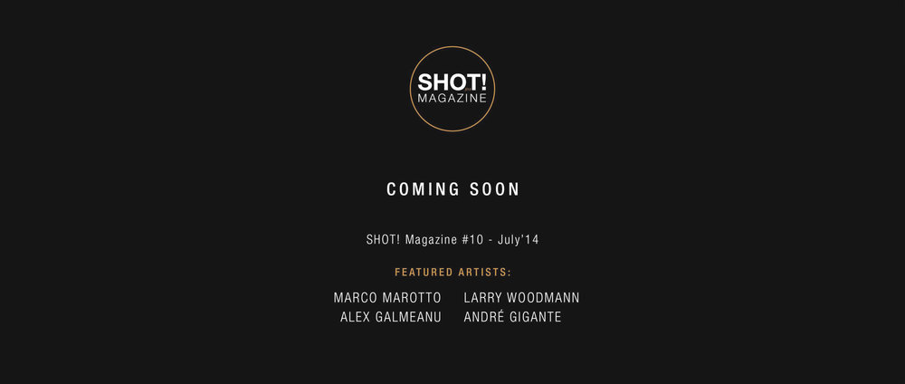SHOT! MAGAZINE  AUTHOR OF THE MONTH 07/2014