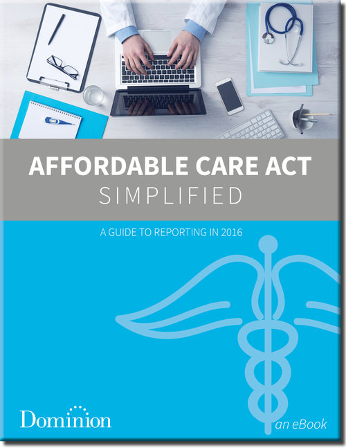 Affordable Care Act Ebook cover