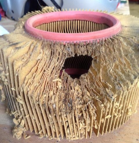 Air cleaner nest
