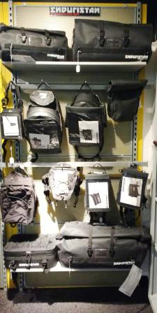 Stop in for OH one day only special on in-stock Enduristan, Wolfman, & Bumot luggage  -