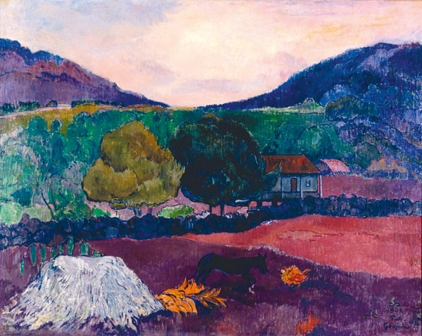Gauguin Landscape Painting