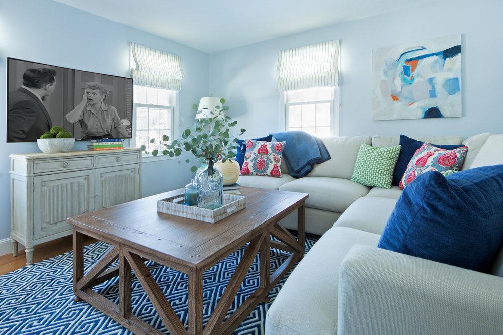 Attractive Schickel Interiors_tv Room_living Room_family Room_boston_interior Design Sectional Sofa_teen