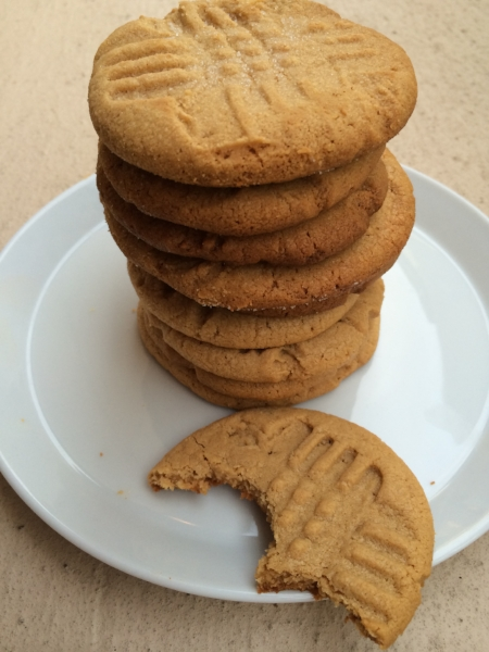 Pictured: Gluten Free Peanut Butter Cookies | Photography: Tiffany Lewis | Recipe:   TheTableTogether.com